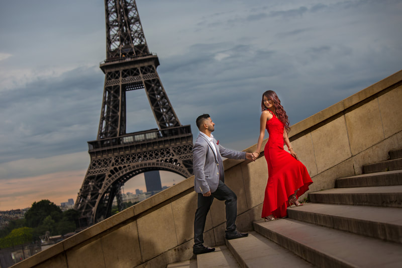 Paris wedding photoshoot