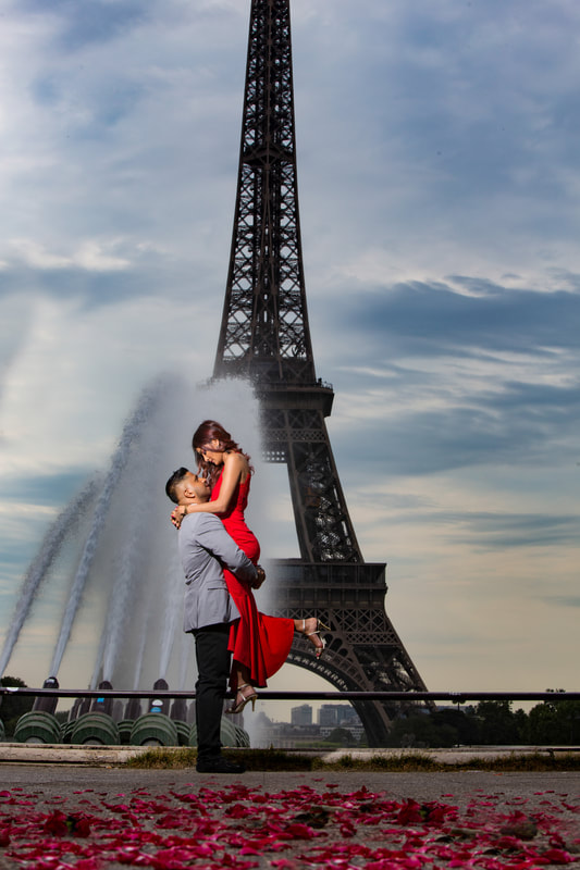 eiffel tower paris wedding