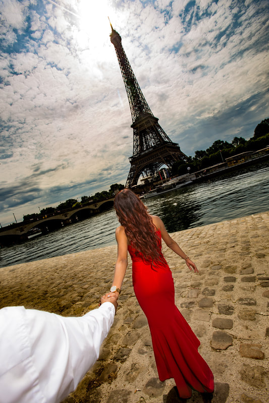 photography shoot at paris